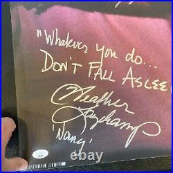 Robert Englund & Heather Langenkamp Signed Nightmare On Elm Street Poster JSA