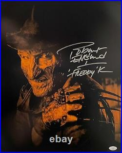 Robert Englund Signed 16x20 Photo Nightmare on Elm Street Autographed JSA COA 3