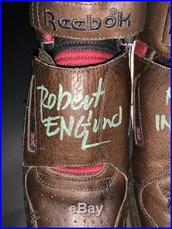 Robert Englund Signed Nightmare On Elm Street Reebok Alien Stomper Exact Proof