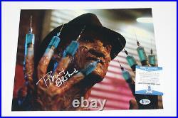 Robert Englund Signed'a Nightmare On Elm Street' 11x14 Photo 3 Beckett Coa Bas