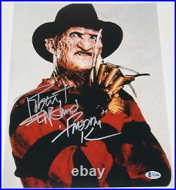 Robert Englund Signed'a Nightmare On Elm Street' 11x14 Photo 5 Beckett Coa Bas