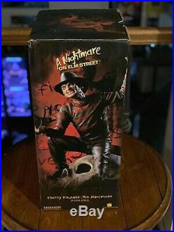 SIDESHOW COLLECTIBLES A Nightmare On Elm Street FRED IN YOUR HEAD Statue Freddy