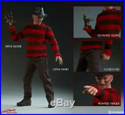 SIDESHOW EXCLUSIVE FREDDY KRUEGER Nightmare on Elm Street 16 SCALE 12 FIGURE