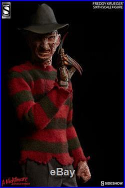 SIDESHOW Nightmare on Elm Street Freddy Kruger 16 Action Figure