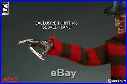 Sideshow Exclusive Freddy Krueger Nightmare On Elm Street Exc Rare #1003591 New