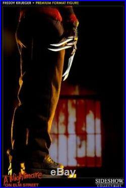 Sideshow Exclusive Nightmare On Elm Street Freddy Krueger Premium Format