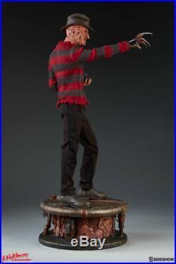 Sideshow Freddy Krueger Nightmare On Elmstreet Premium Format ¼ Statue
