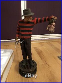 Sideshow Freddy Krueger Premium Format 1/4 Nightmare Elm Street Rare