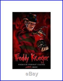 Sideshow Nightmare on Elm Street PF Figure Freddy Krueger 55 cm