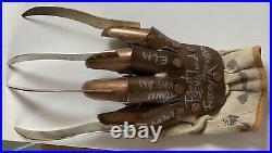 Signed Nightmare On Elm Street Glove Freddy Krueger Robert Englund COA