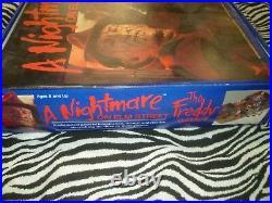 The Freddy Game' Nightmare On Elm Street Vintage Game Used
