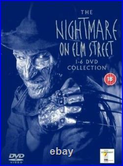 The Nightmare On Elm Street 1-6 Collection (Six Disc Box Set) DVD DVD MMVG