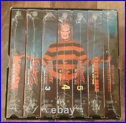 The Nightmare on Elm Street Collection VHS 1999 7-Tape RARE Box Set Excellent