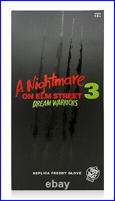 Trick or Treat Studios A Nightmare on Elm Street 3 Deluxe Freddy Krueger Glove