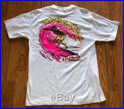 VTG 1989 Freddy Krueger A Nightmare On Elm Street T-Shirt Medium NOS Horror Film