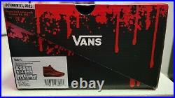 Vans House of Terror Nightmare on Elm Street Sk8 Hi Size 9 Freddy Krueger
