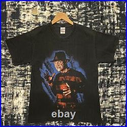 Vintage 02 Nightmare On Elm Street Movie Shirt Medium Freddy Krueger Horror