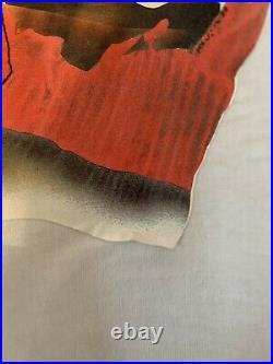 Vintage 1980's The Nightmare Returns On Elm Street Freddy Krueger T-Shirt Sz Med