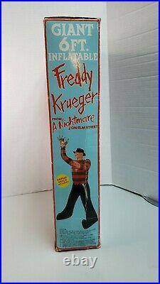 Vintage 1984 Freddy Krueger Nightmare On Elm Street 6 Ft. Inflatable