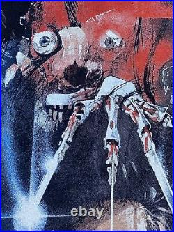Vintage 1990s Nightmare On Elm Street Freddy Krueger Movie Shirt Promo Size XL