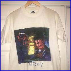 Vintage 1994 Freddy Krueger Nightmare On Elm Street Movie Promo Tee
