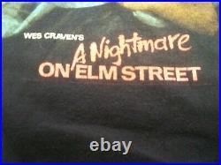 Vintage 2005 Wes Cravens A Nightmare On Elm Street XXL T-Shirt