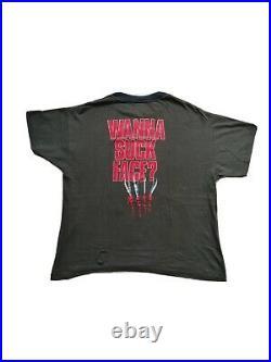 Vintage 80s Nightmare On Elm Street 4 Horror Movie Promo Retro T Shirt L