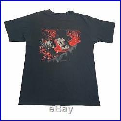 Vintage A Nightmare On Elm Street 3 Dream Warriors T-Shirt Horror Promo 1990's
