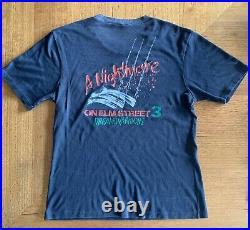 Vintage A Nightmare On Elm Street 3 T Shirt Original 1987