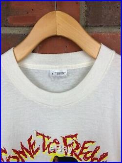 Vintage A Nightmare On Elm Street 4 Freddy Krueger Shirt Mens L 80s Horror Promo