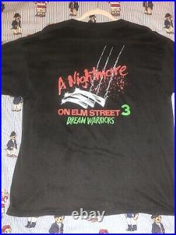 Vintage Freddy Krueger Nightmare on Elm Street Promo T Shirt 1984