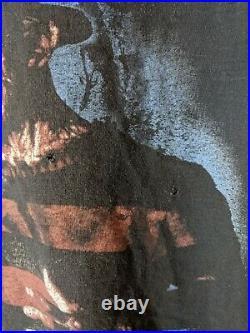 Vintage Freddy Krueger Shirt L Nightmare on Elm Street Gore Horror Cygnus
