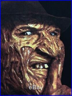 Vintage Freddy krueger T Shirt Mens Xl 1997 Nightmare On Elm Street Horror Vtg