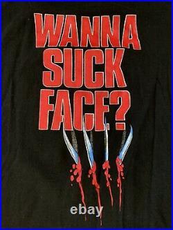 Vintage NIGHTMARE ON ELM STREET PART 4 Movie Promo T-Shirt 80s HORROR Freddy