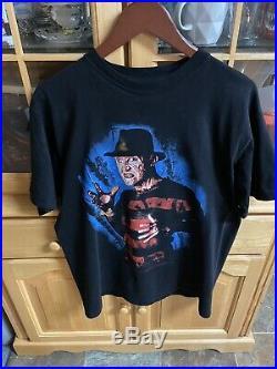 Vintage Nightmare On Elm Street 4 Shirt VTG Freddy Krueger Horror Movie 80s 90s