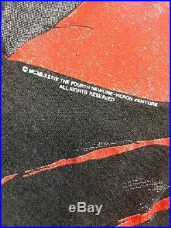 Vintage Nightmare On Elm Street T Shirt Sz S Freddy Krueger Horror Movie Promo