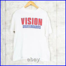 Vision Skateboards A Nightmare On Elm Street 90s Vintage T-Shirt USA White Large